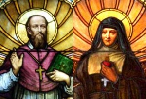 St. Francis de Sales and St. Jane de Chantal