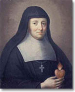 St. Jane de Chantal, co-founder of the Visitation Order