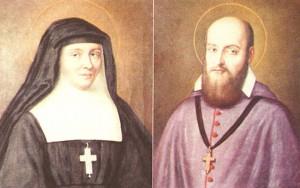 St. Jane and St. Francis de Sales
