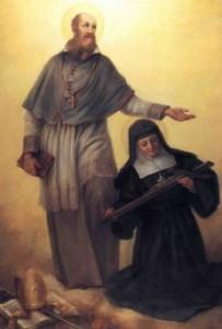 St. Francis de Sales and St. Jane de Chantal