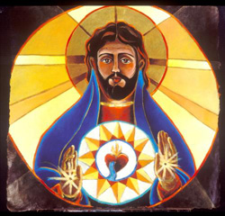 Click for article on the Sacred Heart.
