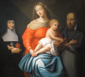St. Francis de Sales, St Jane, Jesus and His Mother